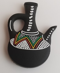 Ethiopian Coffee pot (Jebena - ጀበና) fridge magnet souvenir