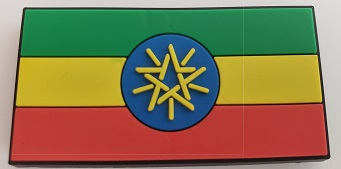 Ethiopian Flag (ባንዲራ) fridge magnet souvenir